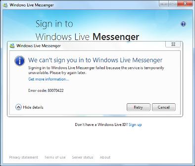 windows live kaydol