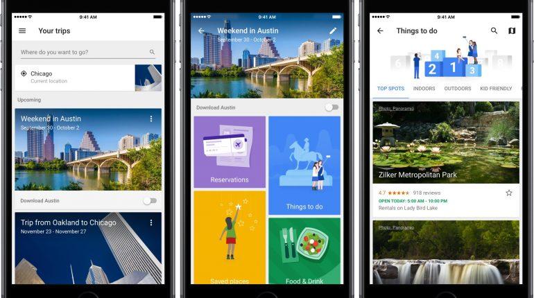 Apps de viajero