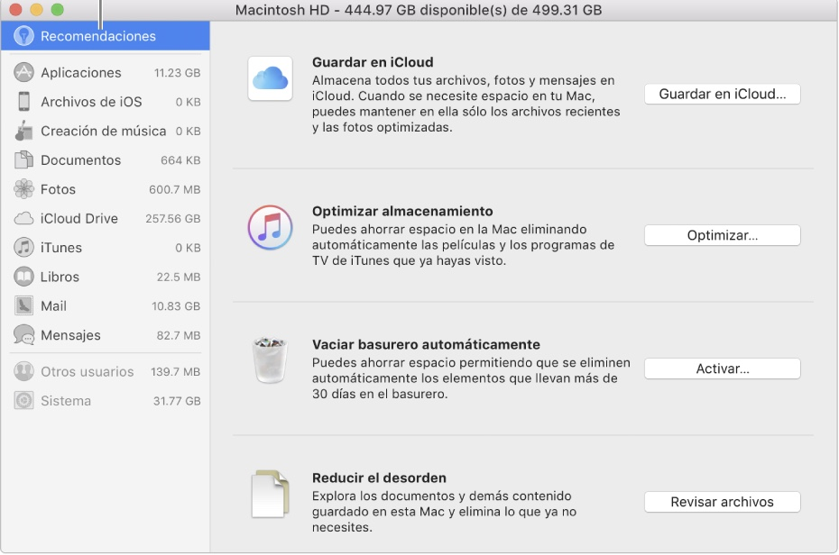 Aplicaciones Mac OS