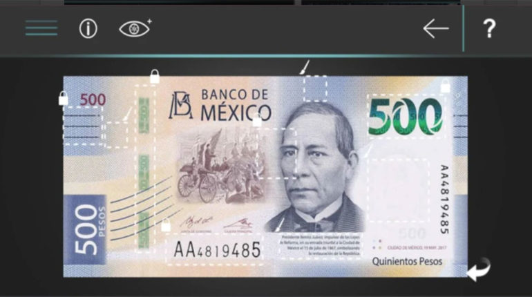 Billete MX